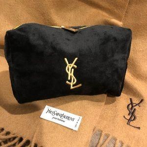 13bdb6f2f301 Yves Saint Laurent Bags - Authentic NWOT YSL Yves Black Velvet Makeup bag